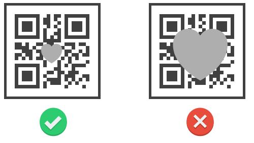 Logo im QR Code