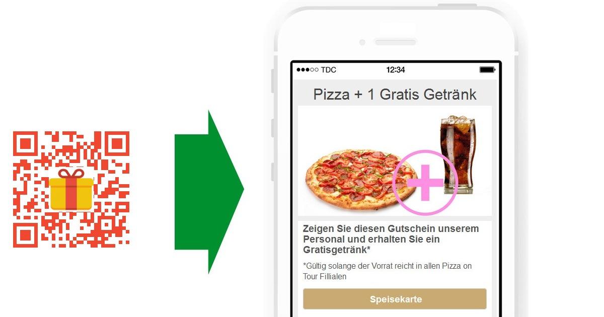 Mobile Gutscheine mit QR Codes | qr1°at