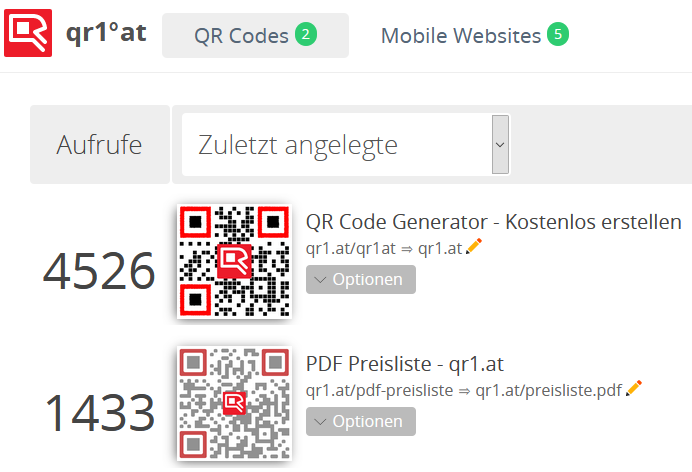 QR Code Manager